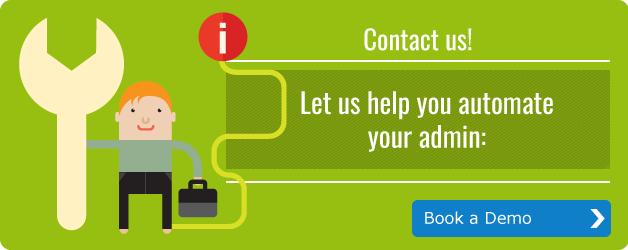 Let us help you automate your admin