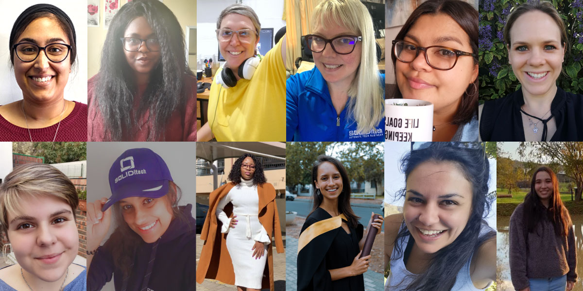 Celebrating our SOLID #WomenInSoftware
